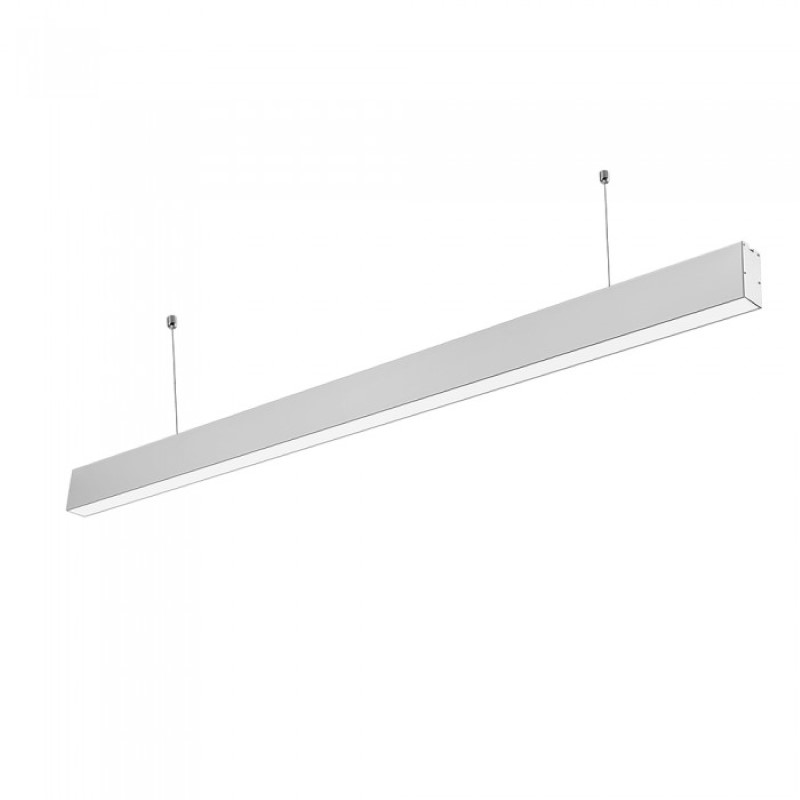 LED linijska svetiljka 40W 4000k mat siva Samsung V-TAC