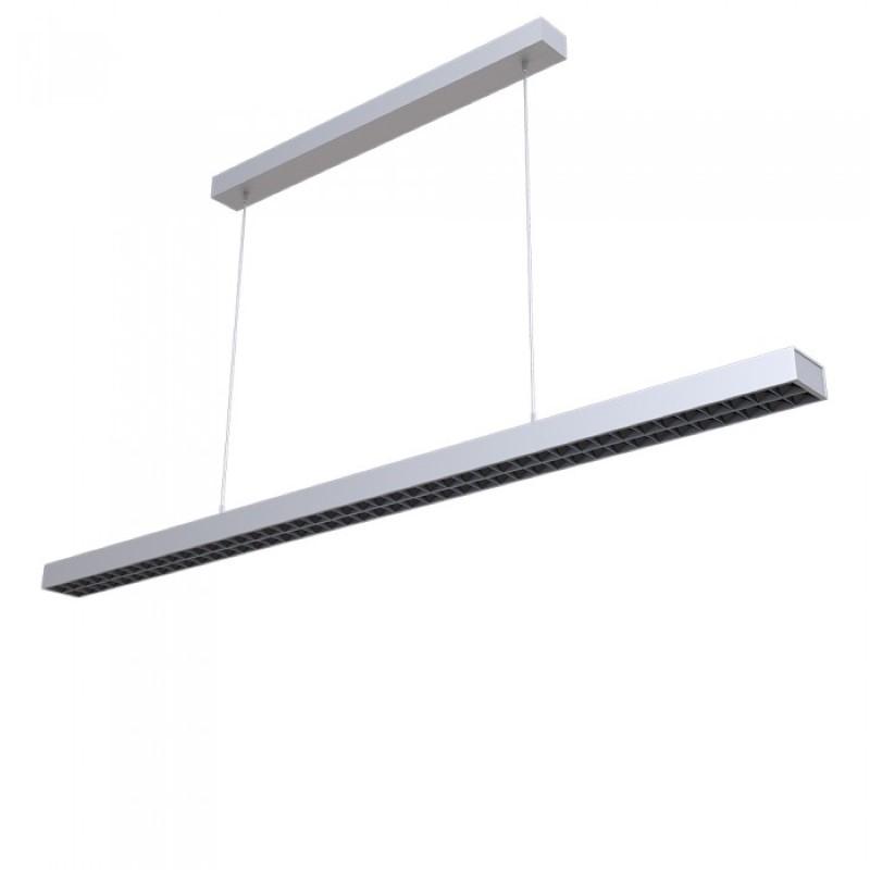 LED linijska svetiljka 60W 4000k mat siva Samsung V-TAC
