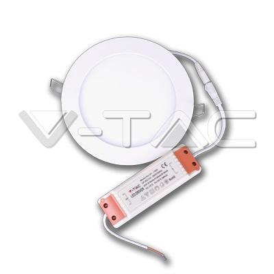 LED panel ugradni 12W okrugli 6000K V-TAC