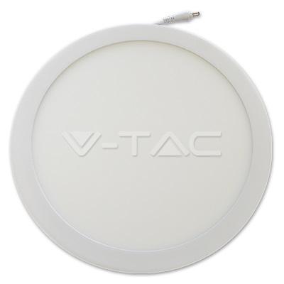 LED panel ugradni 24W okrugli 6000K V-TAC