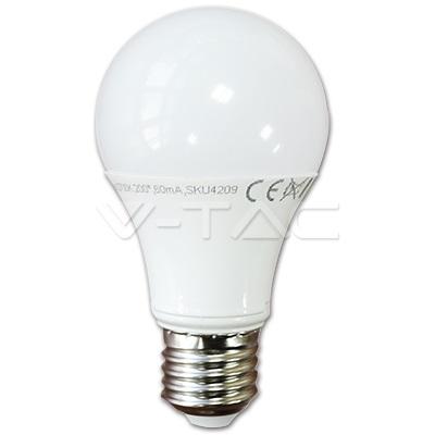 LED sijalica 7W E27 4500K V-TAC