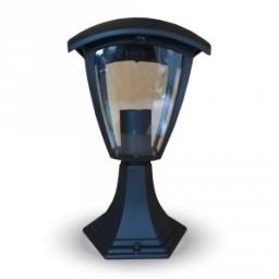 Baštensaka lampa podna 300mm crna IP44 E27 V-TAC
