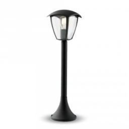 Baštensaka lampa podna 600mm crna IP44 E27 V-TAC