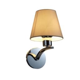 Genova 1xE27 hrom-bela Spot Light