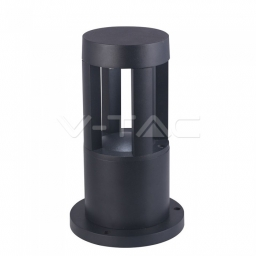 LED baštenska svetiljka 10W 25cm Crna PB V-TAC