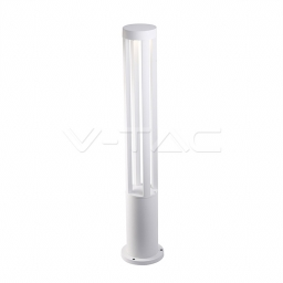 LED baštenska svetiljka 10W 80cm bela PB V-TAC
