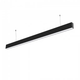 LED linijska svetiljka 40W 4000k crna Samsung V-TAC