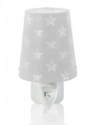 LED noćna lampa STARS siva DALBER