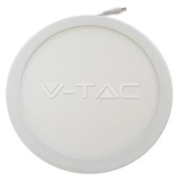 LED panel ugradni 24W okrugli 3000K V-TAC