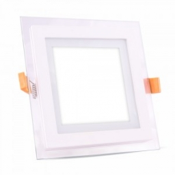 LED panel ugradni kvadrat 6W staklo PB V-TAC