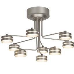 LED plafonska lampa TORO 9X6,9W hrom