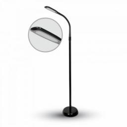 LED podna lampa 7W crna PB V-TAC