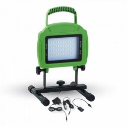 LED reflektor 20W zeleni na baterije V-TAC