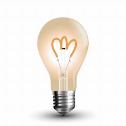 LED sijalica 3W E27 A60 retro zlatna V-Tac