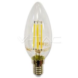 LED sijalica 4W E14 4500K filament V-TAC