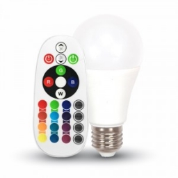 LED sijalica 6W E27 A60 RGB + PB V-tac