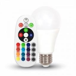 LED sijalica 6W E27 A60 RGB + TB V-TAC