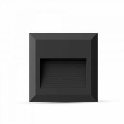 LED step. sve. 2W kv.crna TB V-TAC