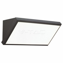LED zid sv.12W pl.siva TB IP65 V-TAC