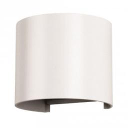 LED zidna sv.6W okrugla siva PB IP65 V-TAC
