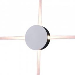 LED zidna sv. 4W okr.bela PB IP65 V-TAC