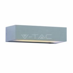 LED zidna sv. 9W siva TB IP65 V-TAC