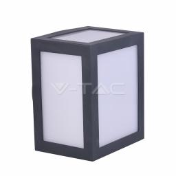LED zidna svetiljka 12W siva kvadratna PB V-TAC