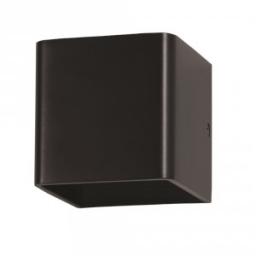 LED zid.sv.5W kv crna PB IP20 V-TAC