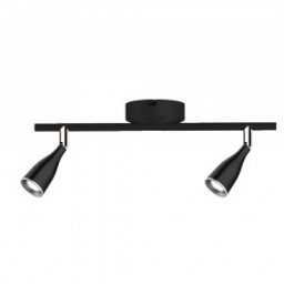 LED zid.svetiljka 2x4,5W crna TB V-TAC
