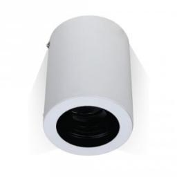 Nadgradna rozetna GU10 okrugla bela V-TAC