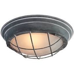 Plaf.lampa TYPHOON 1xE27 siva BRILLIANT