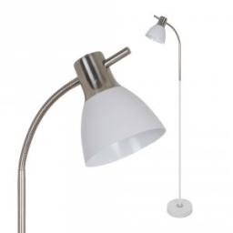 Podna lampa bela SN E27 V-TAC