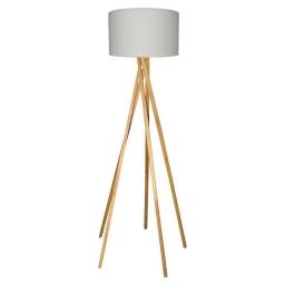 Podna lampa BRANDON E27 bela BRILLIANT