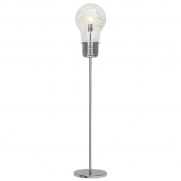 Podna lampa BULB E27 HROM BRILLIANT