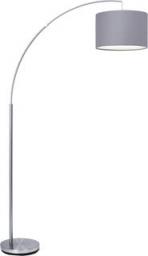 Podna lampa CLARIE E27X1 siva BRILLIANT