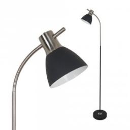 Podna lampa E27 crna SN V-TAC