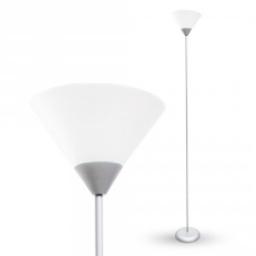 Podna lampa E27 srebrna V-TAC