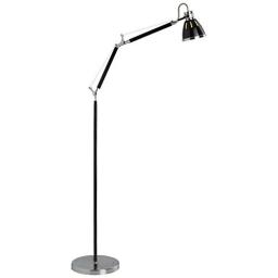 Podna lampa OCTAVIA crna E27 BRILLIANT