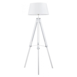 Podna lampa WIDOW E27 BELA BRILLIANT