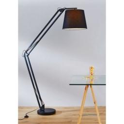 Podon lampa DUBLIN E27 crna BRILLIANT