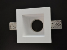 Rozetna gips bela kv. dub. 120 x 120 V-TAC