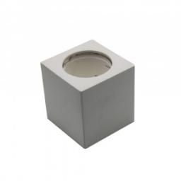 Rozetna gips nadgradna kvadrat GU10 V-TAC