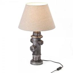Stona lampa DRANT crna E27 BRILLIANT