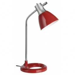 Stona lampa JAN E27 crvena BRILLIANT