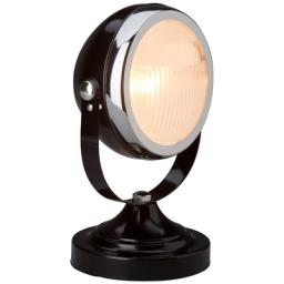 Stona lampa RIDER E14 crna BRILLIANT