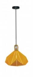 Visilica prizma drvo žuta 320 V-TAC