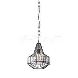 Vislica metal kristal fi 300 vrh V-TAC