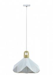 Vislica prizma drvo bela 320 V-TAC