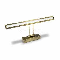 Zidna lampa 8W zlatna za slike V-TAC