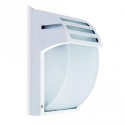Zidna lampa E27 staklo bela IP44 V-TAC